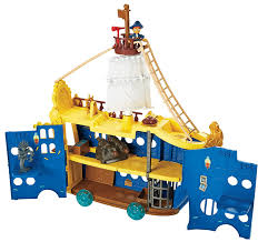 Neverland Map Amazon Com Fisher Price Disney U0027s Jake And The Never Land Pirates