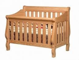 Sleigh Crib Convertible Convertible Cribs Amish Traditions Wv