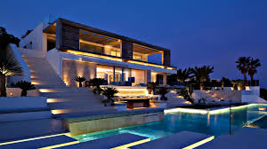 modern villa spectacular spanish luxury contemporary modern villa ibiza