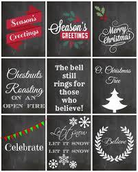 25 cute and free christmas printables printable crush
