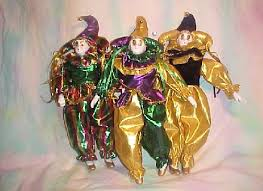 mardi gras jester dolls jesters mardi gras new orleans mardi gras bead connection