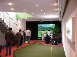 Home Golf Simulator by Full Swing Golf Indoor Golf Simulator Technology Images