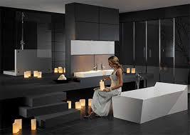 grey white and black bathrooms 5 bathroom designs in black white