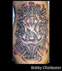 tattoo pictures of new york york yankees bio mech tattoo