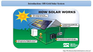 design grid solar pv system