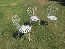Retro Patio Furniture Vintage Metal Chairs And Retro Patio Tables Vintage Metal
