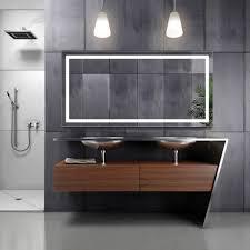 bathroom mirror defogger led bathroom mirror defogger dimmer horizontal 60 l x 30 w