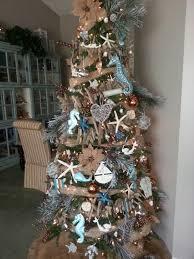 by the sea theme christmas tree winter wonderland pinterest