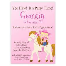 Birthday Invitation Cards Printable Free Printable Horse Birthday Invitations Printable Horse Themed