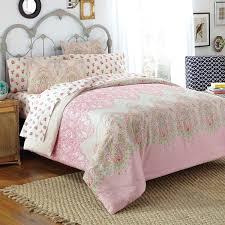 Comforter Set With Sheets Amazon Com Free Spirit Victoria Comforter Set Queen Pink Home