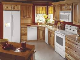 unusual solid wood kitchen cabinets at lowes wall hickory canada