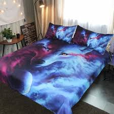 Wolf Bedding Set Wolf Bed Set Hula Home