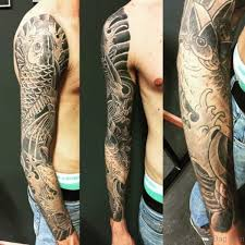 66 stunning fish tattoos on sleeve