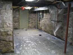 vapor barrier basement floor laminate