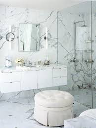 walls and trends marble wall floating vanity exposed plumbing shower system betty