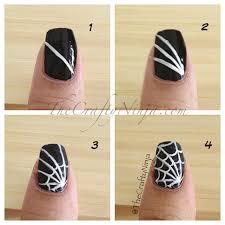 spider web sugar skull nail u003d great halloween idea get
