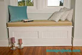 Seat Bench Cushions How To Make A Bench Cushion Cover With Piping Cushions Decoration