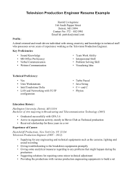 Resume Format For Experienced Production Engineers Cover Letter Assistant Production Editor Cover Letter Assistant