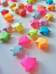 origami lucky stars fun crafts kids