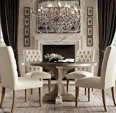 Foucaults Orb Smoke Crystal Chandelier  Foucaults Orb - Crystal chandelier dining room