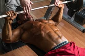 Bodybuilder Bench Press Rest Pause Training U2014low On Time High On Results