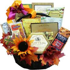 food basket gifts fall thanksgiving gourmet food and snacks