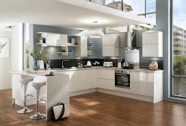 cuisine sans poignee houdan cuisines idée de décoration ezy blanche cuisine sans poignée
