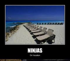 Ninja Meme - ninja on vacation meme image golfian com