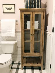 Freestanding Bathroom Accessories by Our Favorite Freestanding Bathroom Linen Cabinets Chris Loves Julia