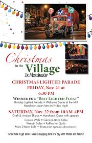 christmas in the village 2014 u2013 lighted parade craft shows the