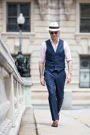 mens light blue dress pants stay cool the sleeveless summer suit he spoke style