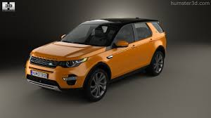 orange range rover sport 360 view of land rover discovery sport hse luxury 2015 3d model