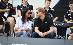 harry and meghan markle prince harry and meghan markle make their first public appearance