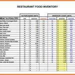 Restaurant Inventory Spreadsheet by 5 Restaurant Inventory Spreadsheet Budget Spreadsheet