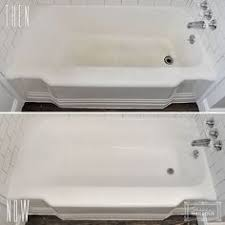 Reglazed Bathtub Bathtub Reglazing Best Way To Renew The Bathtub Or Countertop