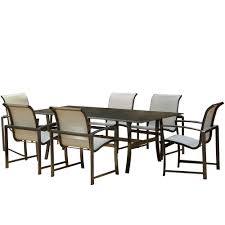 Agio Haywood by Agio Savoye 7 Piece Sling Dining Group