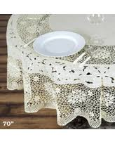 great deals on vinyl lace tablecloths