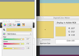 xcode renders color several shades darker despite using same rgb