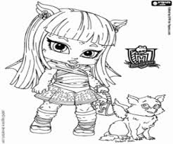 monster high chibi coloring pages monster high baby coloring pages printable games