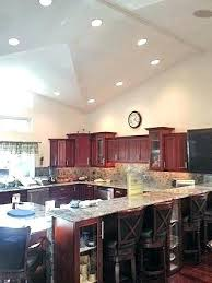 recessed lighting angled ceiling lights for slanted ceiling intodns info