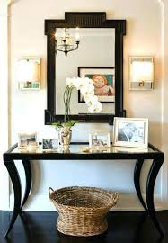 Hallway Console Table And Mirror Modern Hallway Console Table Image For Mirrored Table