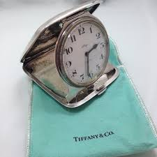 Colorado travel clock images Antique tiffany co sterling silver 8 day travel clock concord jpg