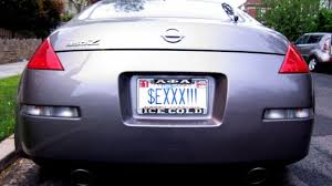 Banned Vanity Plates Your Ny State License Plate Can U0027t Say Pubes Kotex Or Luvcok