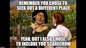 Wizard Of Oz Meme - wizard of oz scarecrow imgflip
