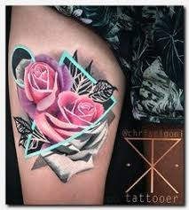 gothic tribal rose cross tattoo picture 4257 gothic tribal rose