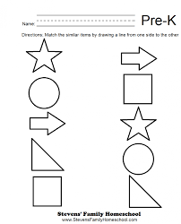 math worksheet for pre k photocito