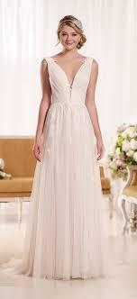 blush wedding dress trend essense of australia top 6 trends for wedding dresses 2016