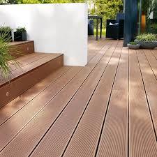 Plastic Laminate Flooring Anti Uv Wood Plastic Composite Laminate Flooring For Balcony Wpc