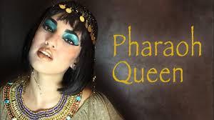 Cleopatra Makeup Tutorial Halloween Costume Ideas Youtube Cleopatra Makeup Tutorial Pharaoh Queen Youtube