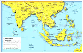 Monsoon Asia Map South Asia Map Game Justeastofwest Me Within Lapiccolaitalia Info